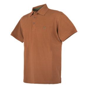 KEYLER Poloshirt Herren Mittelbraun im Pareyshop