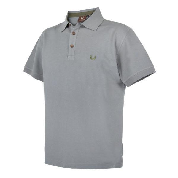 KEYLER Poloshirt Herren Hellgrau im Pareyshop
