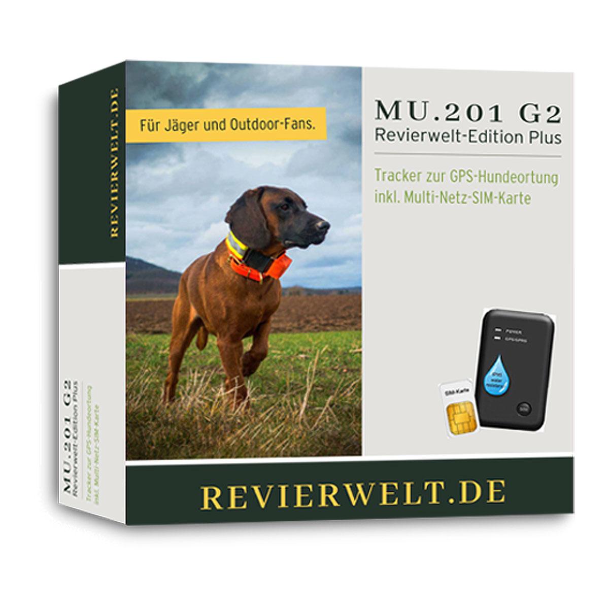 c1cc9f67cafeea GPS-Tracker MU.201G2 Revierwelt-Edition - kaufen auf Pareyshop.de