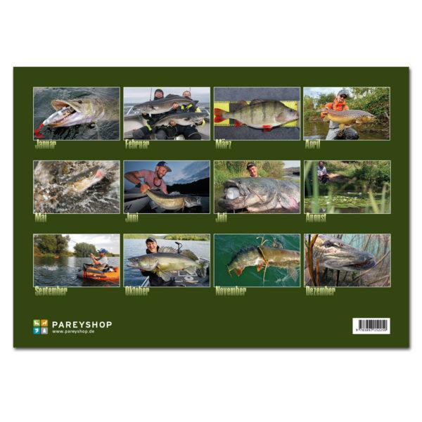 Raubfisch Kalender 2019 im Pareyshop