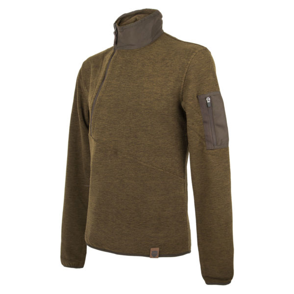 Northern Hunting Herren-Fleecepullover Thorlak Grün im Pareyshop
