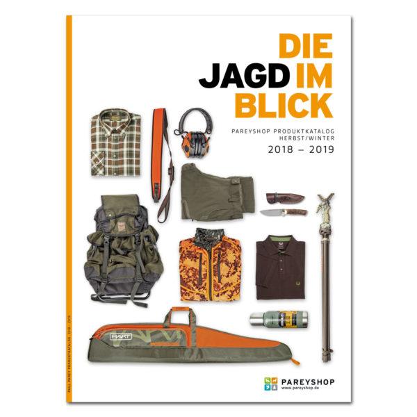 "Produktkatalog ""Die Jagd im Blick"" 2018/2019 im Pareyshop"