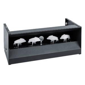AKAH Silhouettenkasten mit 5 Zielen (Schweine) im Pareyshop