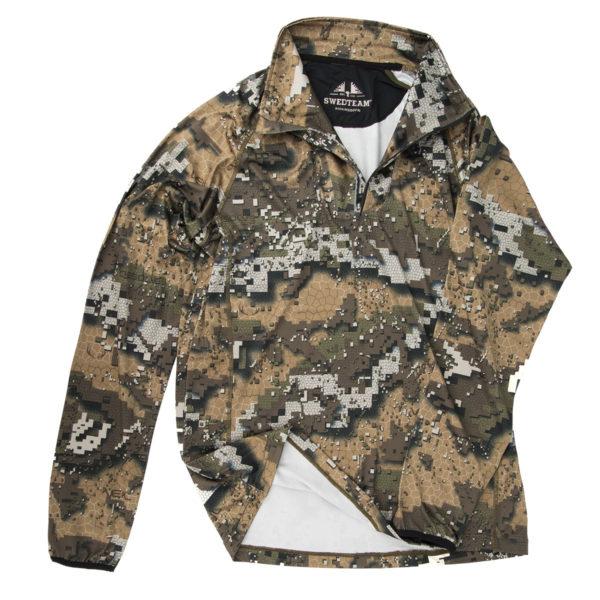 SWEDTEAM Sweater mit Zip Desolve Veil im Pareyshop