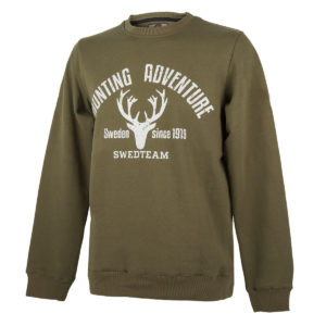 SWEDTEAM Sweater Oscar Grün im Pareyshop