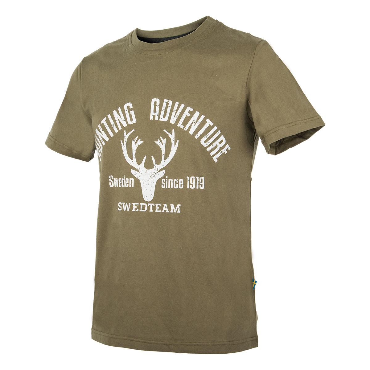 SWEDTEAM T-Shirt Hans Grün - jetzt online kaufen auf Pareyshop.de 0b5c534734