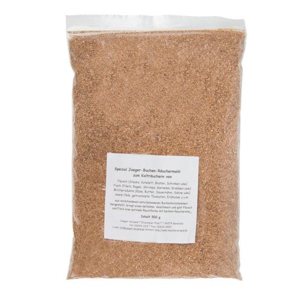 Buchen-Räuchermehl 500 g (für Kalträucher-Set) im Pareyshop