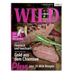 WILD - Bewusst geniessen Ausgabe 2018 im Pareyshop