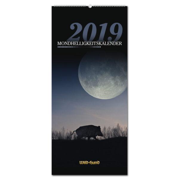 Mondhelligkeitskalender 2019 im Pareyshop