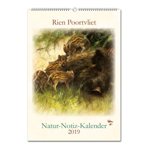 Notizkalender Rien Poortvliet 2019 im Pareyshop