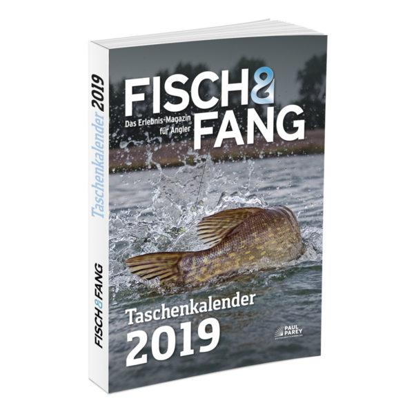 Taschenkalender FISCH & FANG 2019 im Pareyshop
