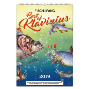 Best of Klavinius FISCH & FANG Kalender 2019 im Pareyshop