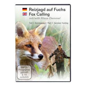 Reizjagd auf Fuchs mit Klaus Demmel - Teil 1 Sommerjagd (DVD) im Pareyshop