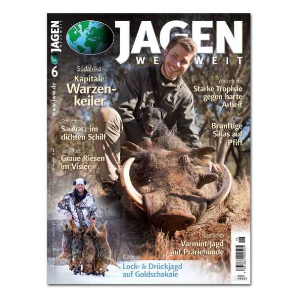 Jagen Weltweit 2018/06 im Pareyshop