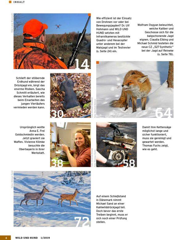 Wild und Hund 2019/01 im Pareyshop