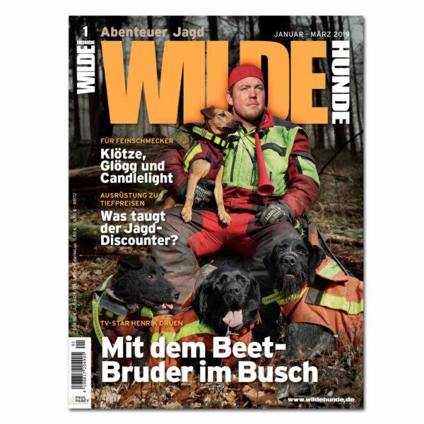 Wilde Hunde 2019/01 im Pareyshop