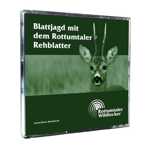 Blattjagd mit dem Rottumtaler Rehblatter (CD) im Pareyshop