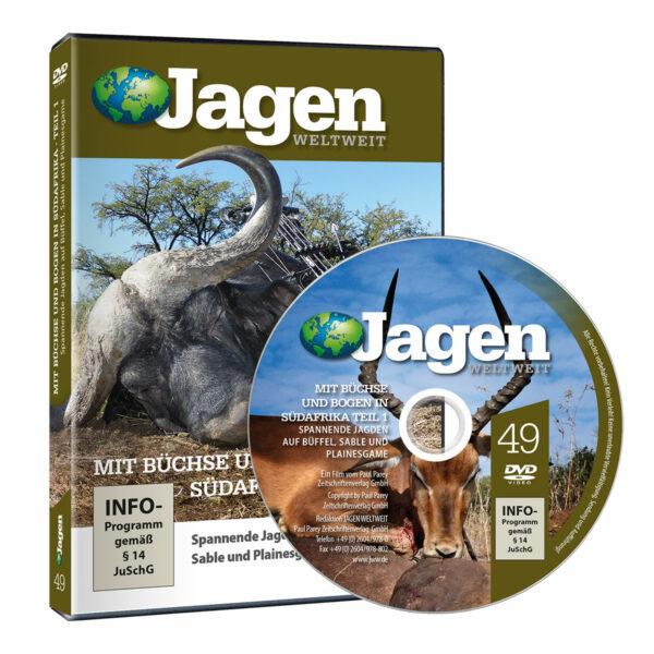 Mit Büchse und Bogen in Südafrika Teil 1 - JWW DVD Nr. 49 im Pareyshop