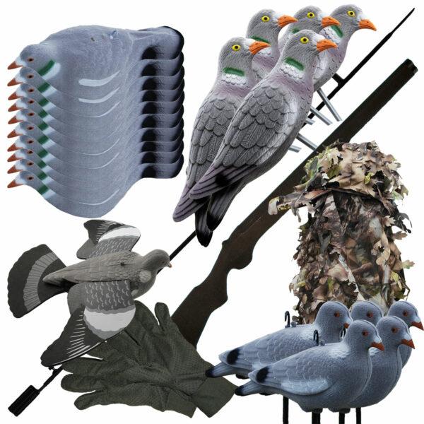 Kompaktset Taubenjagd im Pareyshop