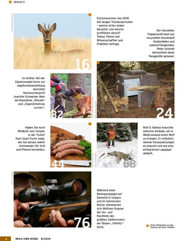 Wild und Hund 2019/08 im Pareyshop