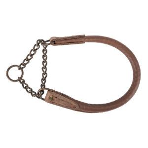 AKAH Elchleder Halsband braun im Pareyshop