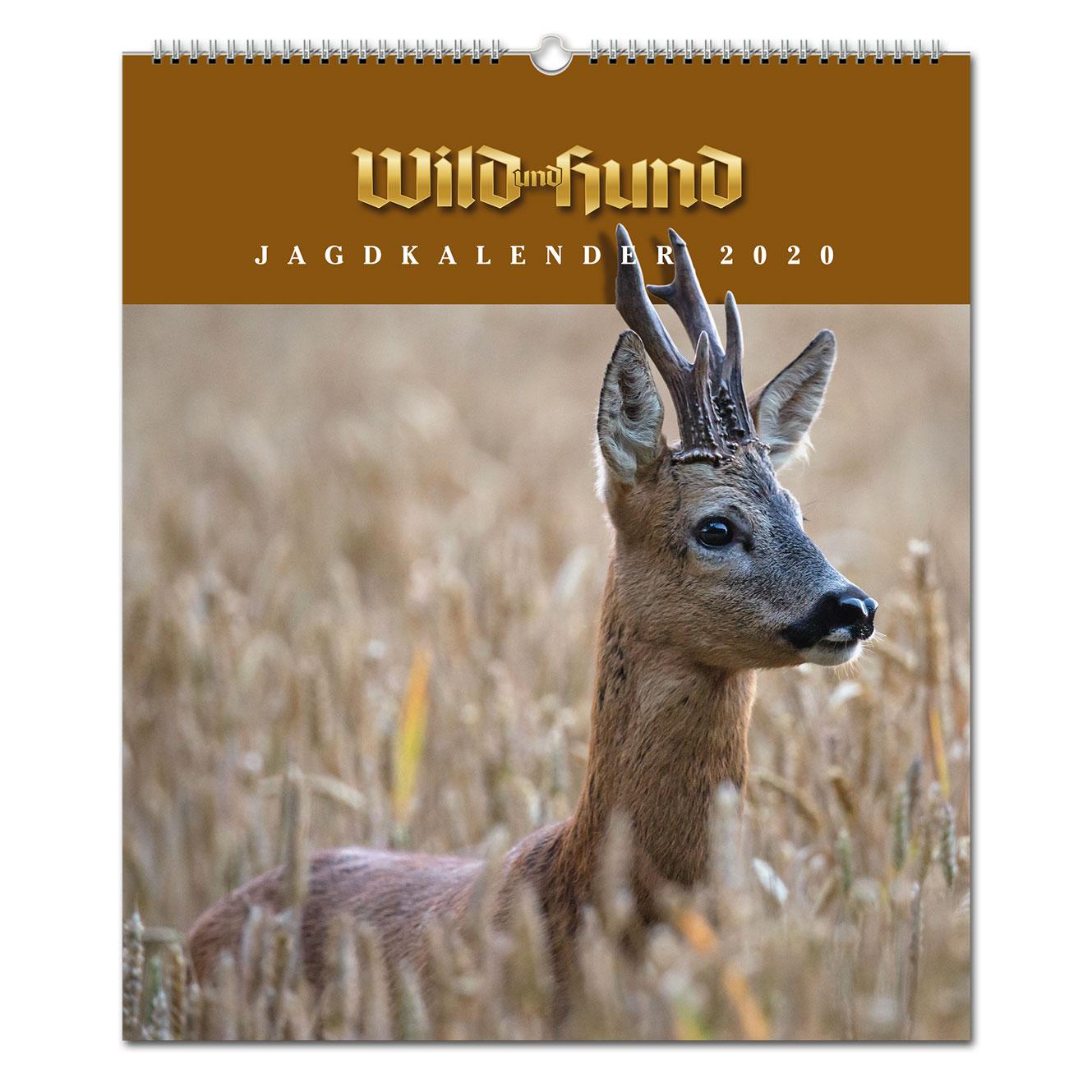 ebf8c440f700ff WILD UND HUND Edition: Jagdkalender Wandvariante 2020 - Pareyshop.de