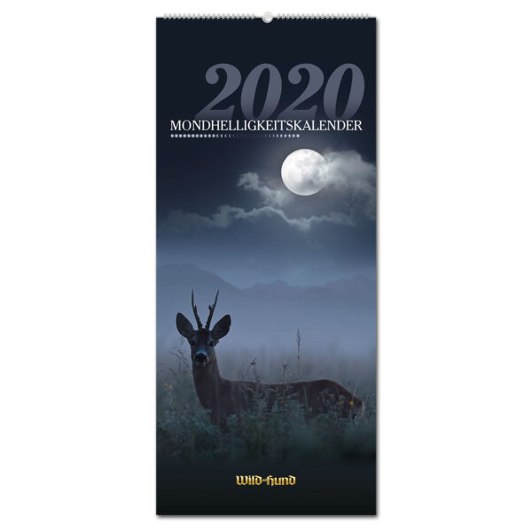 WILD UND HUND Edition: Mondhelligkeitskalender 2020 im Pareyshop
