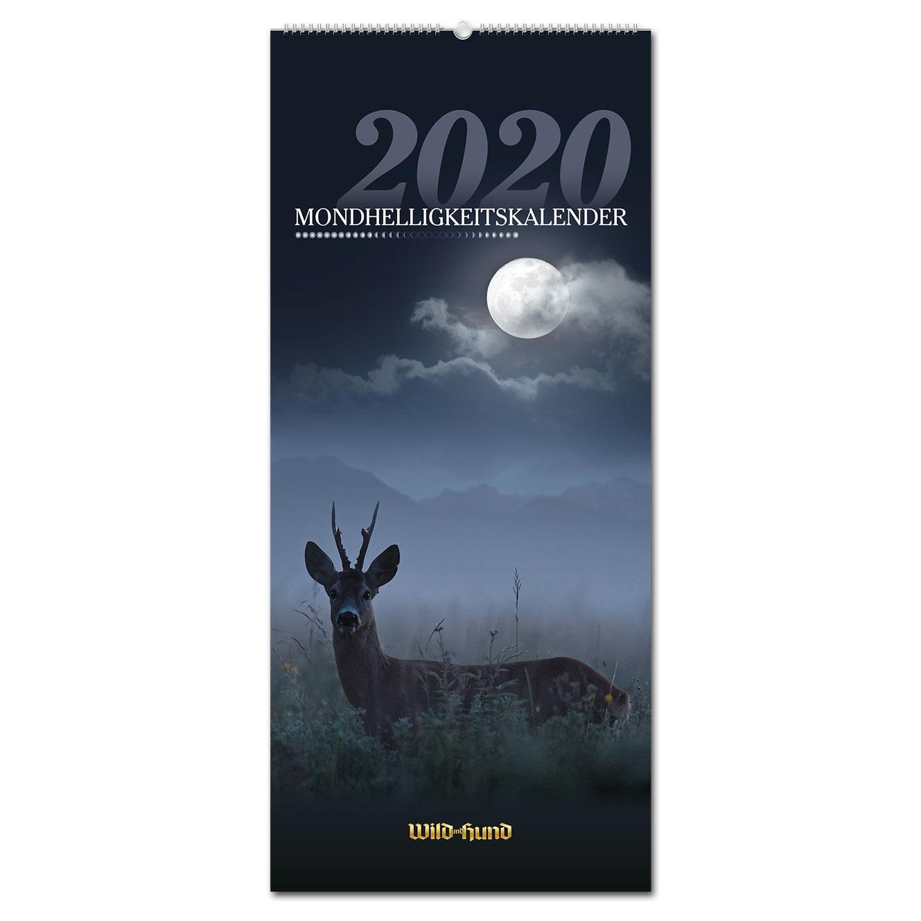 304421cd0865bf WILD UND HUND Edition: Mondhelligkeitskalender 2020 - Pareyshop.de