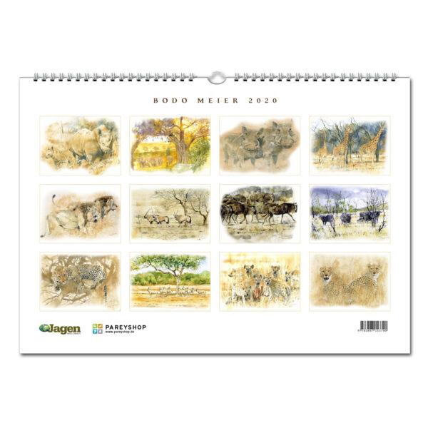 JAGEN WELTWEIT Edition: Bodo Meier Afrika Kalender 2020 im Pareyshop