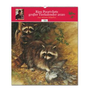 Rien Poortvliets großer Tierkalender 2020 im Pareyshop