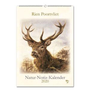 Rien Poortvliet Natur-Notiz-Kalender 2020 im Pareyshop