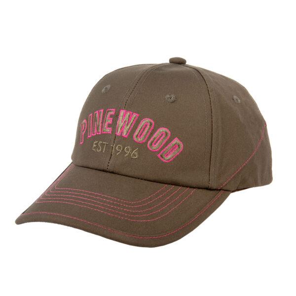 Pinewood Damen Cap Andorra (Schriftzug Hot Pink) im Pareyshop