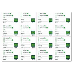 DJZ Edition: Etiketten für Vakuumbeutel (10 Bogen) im Pareyshop
