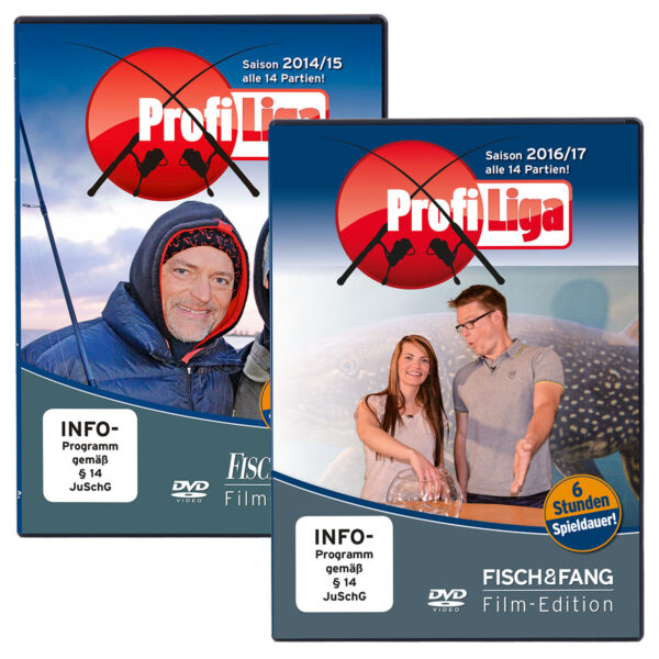 Profi-Liga DVD Set (Saison 2014 - 2017) im Pareyshop