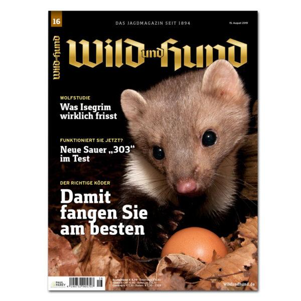 Wild und Hund 2019/16 im Pareyshop