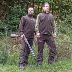 Wild & Wald Herren-Fleecejacke Fuchs im Pareyshop