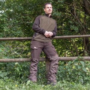 Wild & Wald Fleecepullover Nebelkar im Pareyshop