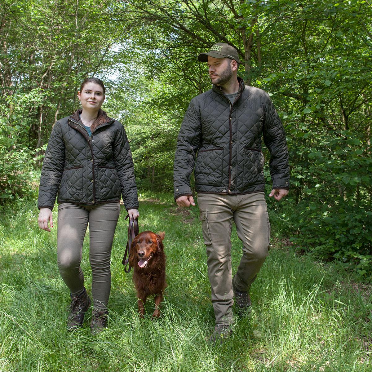 Pinewood Damen-Jacke Yorkshire Moosgrün im Pareyshop