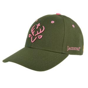 Jagdstolz Cap Logo Pink im Pareyshop