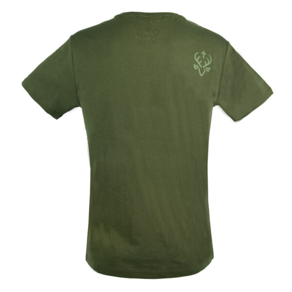 Jagdstolz Herren T-Shirt Big Logo Grün im Pareyshop