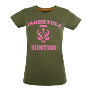 Jagdstolz Damen T-Shirt College Pink im Pareyshop