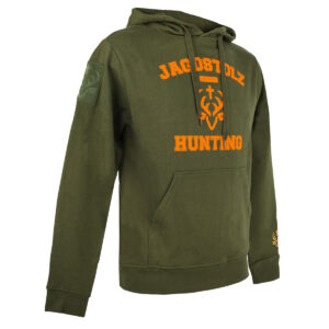 Jagdstolz Herren Hoodie College Orange im Pareyshop