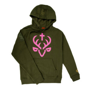 Jagdstolz Damen Hoodie Pink im Pareyshop