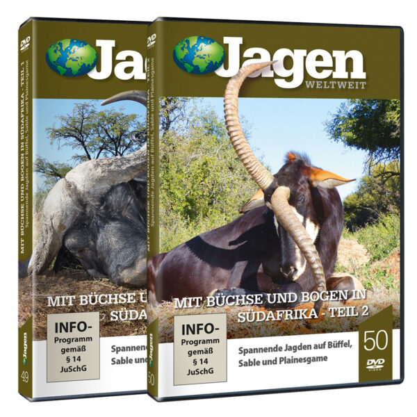 JWW DVD Set: Mit Büchse und Bogen in Südafrika im Pareyshop