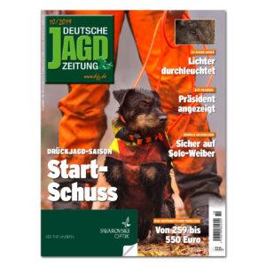 Deutsche Jagdzeitung 2019/10 im Pareyshop