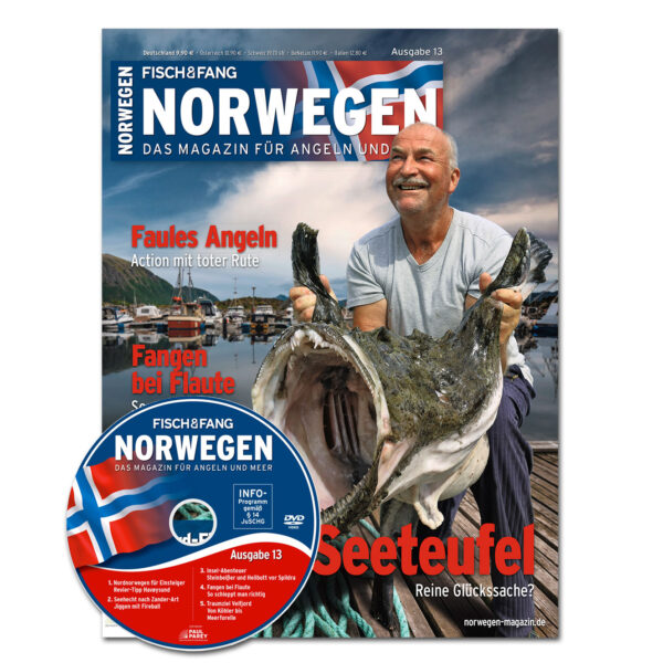 Norwegen-Magazin 13 + DVD im Pareyshop