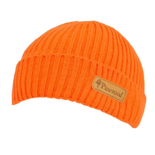 Pinewood Mütze New Stöten Orange im Pareyshop