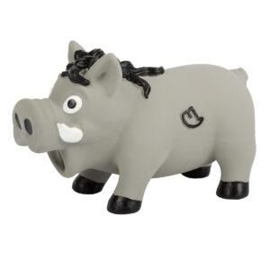 Farm-Land Wildschwein Latex 15 cm Grau im Pareyshop