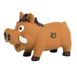 Farm-Land Wildschwein Latex 22 cm Braun im Pareyshop