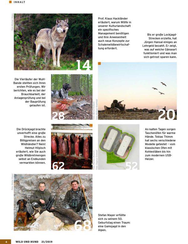 Wild und Hund 2019/21 im Pareyshop